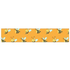 Wasp Bee Hanny Yellow Fly Animals Flano Scarf (small) by Jojostore