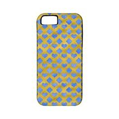 Diamond Heart Card Valentine Love Blue Yellow Gold Apple Iphone 5 Classic Hardshell Case (pc+silicone) by Jojostore
