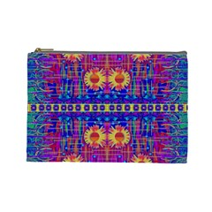 Festive Decorative Moonshine Cosmetic Bag (large)  by pepitasart