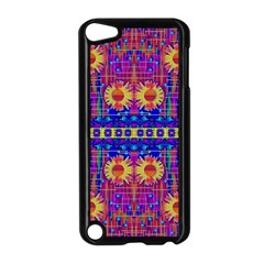 Festive Decorative Moonshine Apple Ipod Touch 5 Case (black) by pepitasart