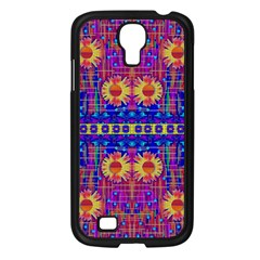 Festive Decorative Moonshine Samsung Galaxy S4 I9500/ I9505 Case (black) by pepitasart