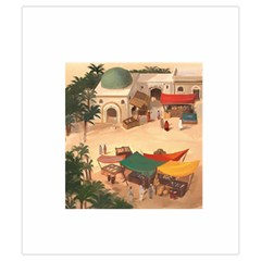 Imhotep White Stone Draw Bag Game Art By David Gullett   Drawstring Pouch (small)   Oot3icgr45ch   Www Artscow Com Front