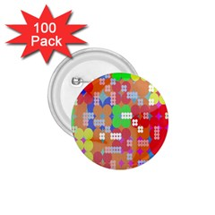 Abstract Polka Dot Pattern 1 75  Buttons (100 Pack)  by Nexatart