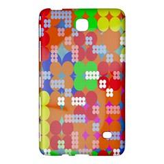 Abstract Polka Dot Pattern Samsung Galaxy Tab 4 (8 ) Hardshell Case  by Nexatart