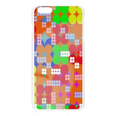 Abstract Polka Dot Pattern Apple Seamless iPhone 6 Plus/6S Plus Case (Transparent) by Nexatart