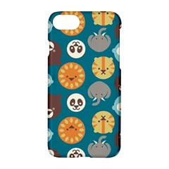 Animal Pattern Apple Iphone 7 Hardshell Case by Nexatart