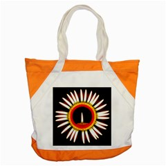 Candle Ring Flower Blossom Bloom Accent Tote Bag by Nexatart