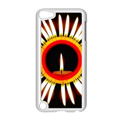 Candle Ring Flower Blossom Bloom Apple Ipod Touch 5 Case (white) by Nexatart