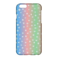 Christmas Happy Holidays Snowflakes Apple Iphone 6 Plus/6s Plus Hardshell Case