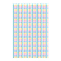 Grid Squares Texture Pattern Shower Curtain 48  X 72  (small)  by Nexatart