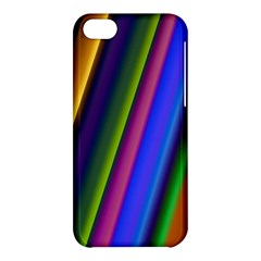 Strip Colorful Pipes Books Color Apple Iphone 5c Hardshell Case by Nexatart