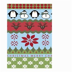 Ugly Christmas Xmas Small Garden Flag (Two Sides)