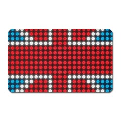 The Flag Of The Kingdom Of Great Britain Magnet (Rectangular) by Nexatart