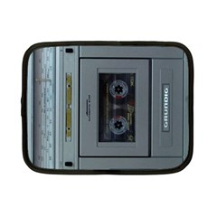 Vintage Tape Recorder Netbook Case (small)  by Nexatart