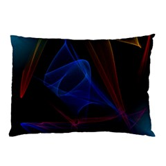 Lines Rays Background Light Pattern Pillow Case by Nexatart