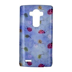 Ladybug Blue Nature LG G4 Hardshell Case by Nexatart