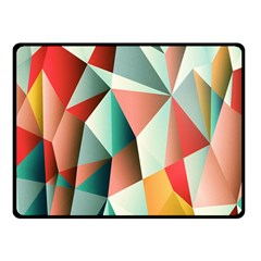 Abstracts Colour Fleece Blanket (Small) by Nexatart