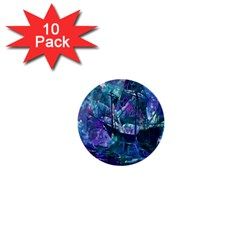 Abstract Ship Water Scape Ocean 1  Mini Buttons (10 pack)  by Nexatart