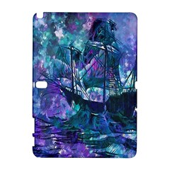 Abstract Ship Water Scape Ocean Galaxy Note 1 by Nexatart