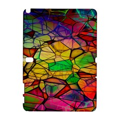 Abstract Squares Triangle Polygon Galaxy Note 1 by Nexatart