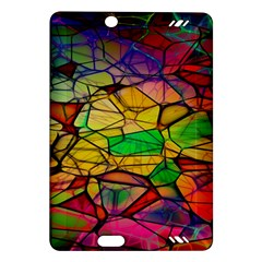 Abstract Squares Triangle Polygon Amazon Kindle Fire Hd (2013) Hardshell Case by Nexatart