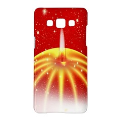 Advent Candle Star Christmas Samsung Galaxy A5 Hardshell Case  by Nexatart