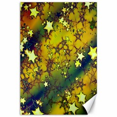 Advent Star Christmas Canvas 12  X 18   by Nexatart