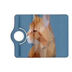 Animals Face Cat Kindle Fire Hd (2013) Flip 360 Case by Alisyart