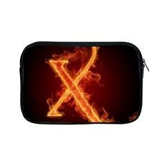 Fire Letterz X Apple Ipad Mini Zipper Cases by Alisyart