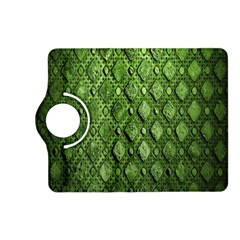 Circle Square Green Stone Kindle Fire Hd (2013) Flip 360 Case by Alisyart