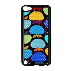 Fruit Apples Color Rainbow Green Blue Yellow Orange Apple Ipod Touch 5 Case (black) by Alisyart