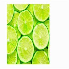 Green Lemon Slices Fruite Large Garden Flag (two Sides) by Alisyart