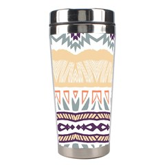 Tribal Design        Stainless Steel Travel Tumbler by LalyLauraFLM