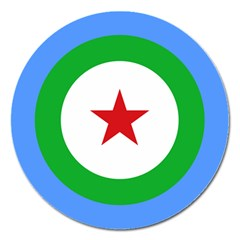 Roundel Of Djibouti Air Force  Magnet 5  (round) by abbeyz71