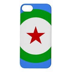 Roundel Of Djibouti Air Force  Apple Iphone 5s/ Se Hardshell Case by abbeyz71
