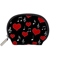 Love Song Accessory Pouches (small)  by Valentinaart
