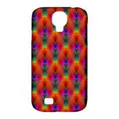 Apophysis Fractal Owl Neon Samsung Galaxy S4 Classic Hardshell Case (pc+silicone) by Nexatart