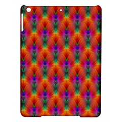 Apophysis Fractal Owl Neon Ipad Air Hardshell Cases by Nexatart