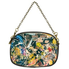 Art Graffiti Abstract Vintage Chain Purses (one Side)  by Nexatart