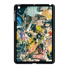 Art Graffiti Abstract Vintage Apple Ipad Mini Case (black) by Nexatart