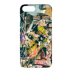 Art Graffiti Abstract Vintage Apple Iphone 7 Plus Hardshell Case by Nexatart