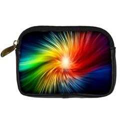 Lamp Light Galaxy Space Color Digital Camera Cases by Alisyart