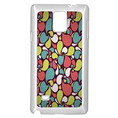 Leaf Camo Color Flower Samsung Galaxy Note 4 Case (white) by Alisyart