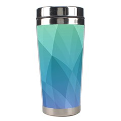 Lotus Events Green Blue Purple Stainless Steel Travel Tumblers by Alisyart