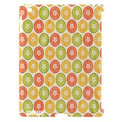 Lime Orange Fruit Slice Color Apple Ipad 3/4 Hardshell Case (compatible With Smart Cover) by Alisyart