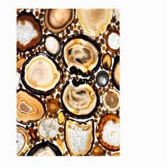 Natural Agate Mosaic Large Garden Flag (two Sides) by Alisyart