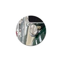 Auto Automotive Classic Spotlight Golf Ball Marker (10 Pack) by Nexatart