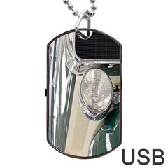 Auto Automotive Classic Spotlight Dog Tag Usb Flash (two Sides) by Nexatart
