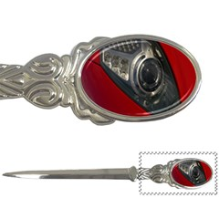 Auto Red Fast Sport Letter Openers by Nexatart