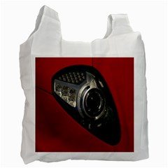 Auto Red Fast Sport Recycle Bag (one Side) by Nexatart